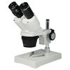 10X/20X Widefield Stereo Microscope, Binocular, Post Stand (Height 155mm) Fixed Head
