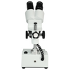 10X/30X Widefield Stereo Microscope, Binocular, Post Stand, LED Top Light (Fixed Head)