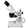 10X/30X Widefield Stereo Microscope, Binocular, Post Stand, Halogen Top Light
