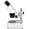 10X/30X Widefield Forward Stereo Microscope Top & Bottom Light WF Inspection
