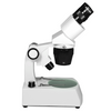 10X/30X Widefield Stereo Microscope, Binocular, Track Stand, LED Top and Bottom Light, Bright Field