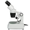 20X/40X Widefield Stereo Microscope, Binocular, Track Stand, Halogen Top and Bottom Light, Bright Field
