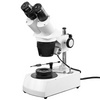 10X/30X Jewelry Gem Stereo Microscope, Binocular, Halogen Light, Post Stand + Dark Field Condenser