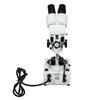 20X-40X Jewelry Gem Stereo Microscope, Binocular, Halogen Light, Post Stand + Dark Field Condenser