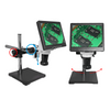 LED Video Microscope, LCD 10 in. Monitor, Industrial Inspection, Boom Stand