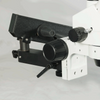 7X-45X Widefield Zoom Stereo Microscope, Trinocular, Flexible Articulating Arm Table Clamp (Siedentopf)