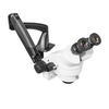 7X-45X Widefield Zoom Stereo Microscope, Binocular, Pneumatic Articulating Arm Table Clamp