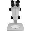 6X-50X Widefield Zoom Stereo Microscope, Trinocular, Track Stand