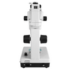 6.5X-45X Super Widefield Zoom Stereo Microscope, Trinocular, Track Stand (Track Length 190mm) Halogen Top Light and Fluorescent Bottom Light
