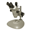 7X-45X Widefield Zoom Stereo Microscope, Trinocular, Post Stand (Height 240mm)