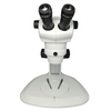 8X-50X Widefield Zoom Stereo Microscope, Binocular, Track Stand (Track Length 300mm) Fan Shaped Base