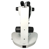 8X-50X Widefield Zoom Stereo Microscope, Binocular, Track Stand (Track Length 300mm) LED Top and Bottom Light, Fan Shaped Base