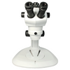 8X-50X Widefield Zoom Stereo Microscope, Trinocular, Track Stand (Track Length 300mm) Fan Shaped Base