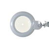 5 Diopter (2.25X Magnification) LED Magnifying Lamp with Clamp, 7 inch Lens