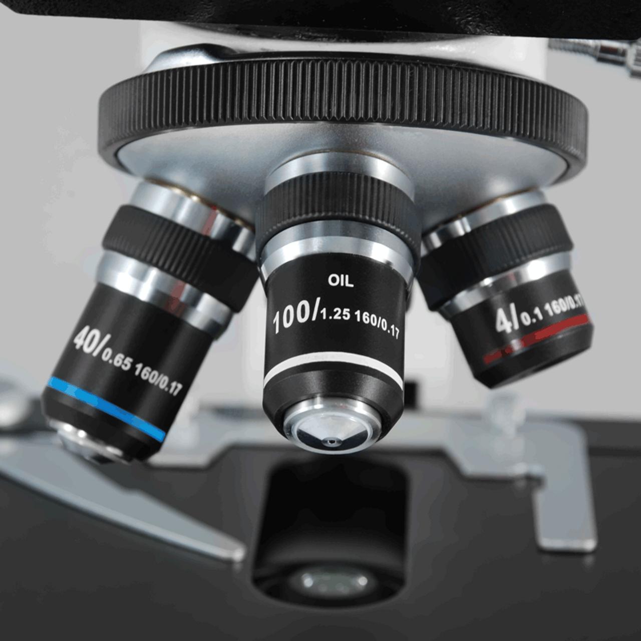 BoliOptics 100X Plan Achromatic Metallurgical Microscope Objective Lens Working Distance 0.33mm MT14023831