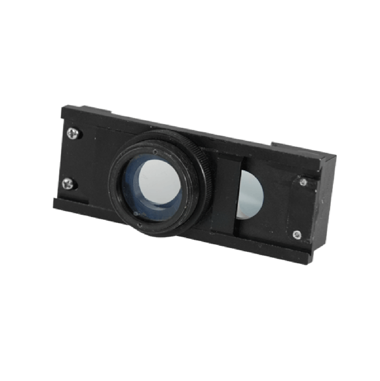 3D Rotary Observation Lens Attachment for Microscope Objective, 360 Degree  View, 35 Degree Angle Converter