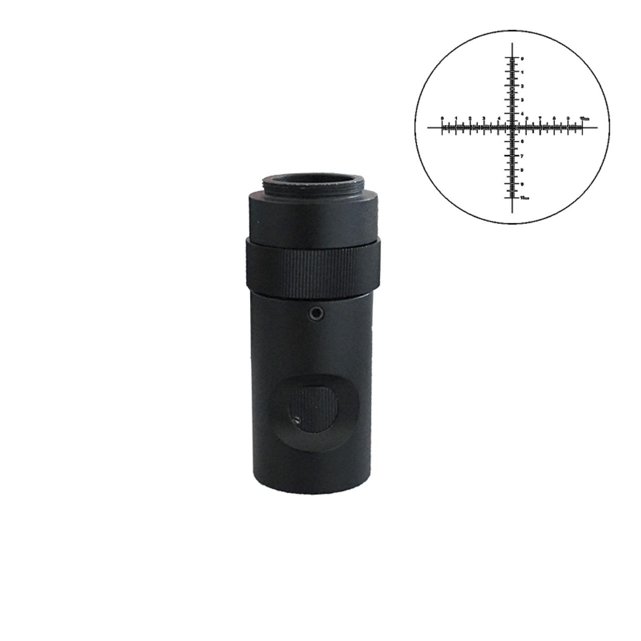 B Blesiya 1X CS C-Mount Adapter CCD Interface Camera per Microscopio Stereo Trinoculare