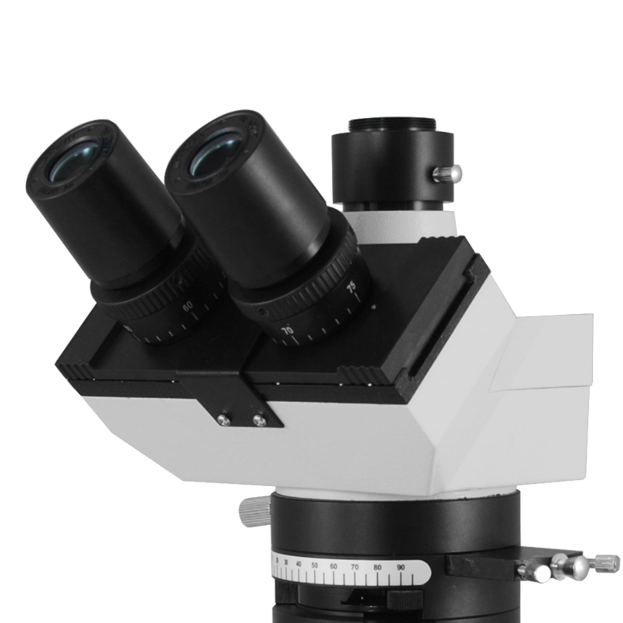 WF10X Magnification High Eyepoint Microscope Wide-Angle Eyepiece 18mm,Built-in Reticle Wire for Biological Microscope Microscope Eyepiece