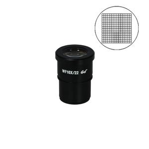 10x10mm/16x16 Net Grid Eyepiece Field of View Dia. 22mm 10X Reticle Eyepiece ( Dia. 30/FN22) SZ05013235