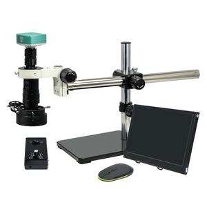 0.35-2.25X 2.0 Megapixels CMOS LED Light Ball Bearing Boom Stand Video Zoom Microscope MZ02210452