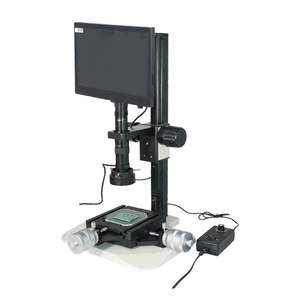 0.35-2.25X 2.0 Megapixels CMOS LED Light Track Stand XY Stage Travel Distance 2x2″ Measurement Microscope MS02030103