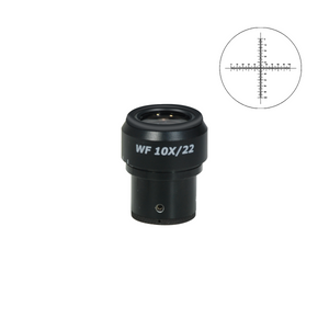 10mm/100 Div Eyepiece Field of View Dia. 15mm 10X Reticle Adjustable Eyepiece ( Dia. 30/FN22) SZ02173241