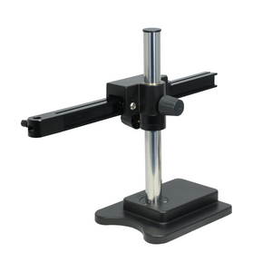 Microscope Boom Stand, Single Square Arm, Weighted Base