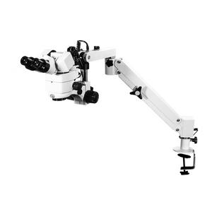 3.44X/6.25X/10.94X/18.75X/34.38X Pneumatic Arm Trinocular Parallel Multiple Power Operation Stereo Microscope SM51030151