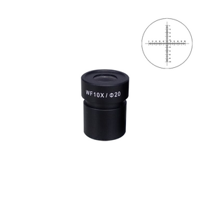 10mm/100 Div Eyepiece Field of View Dia. 20mm 10X Reticle Eyepiece ( Dia. 30.5/FN20) FS12013232