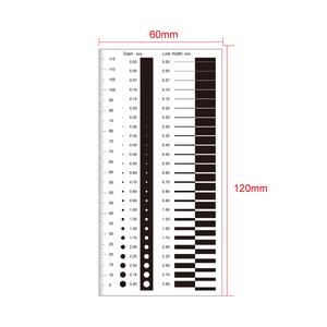 120mm/240 Div Comparison Test Gauge RT02420403