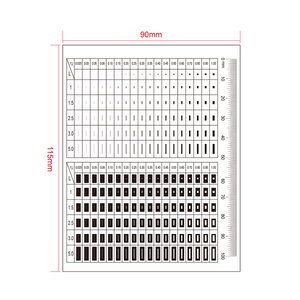 100mm/400 Div Comparison Test Gauge RT02420412