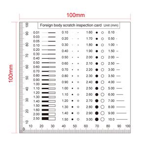 100mm/200 Div Comparison Test Gauge RT02420413