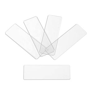 50 Microscope Slides, Glass, Blank