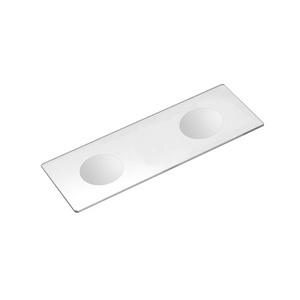 50 Microscope Slides, Double Concave Depression Cavity, Glass