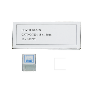 1,000 Glass Cover Slips (18x18mm Square) for Microscope Slides SL39201002