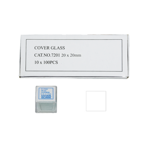 1,000 Glass Cover Slips (20x20mm Square) for Microscope Slides