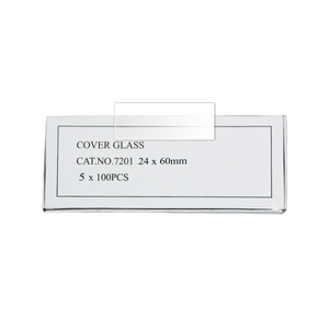 1,000 Glass Cover Slips (24x60mm Rectangular) for Microscope Slides