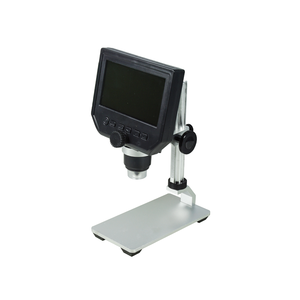 1-600X LED Digital Microscope, HD 4.3 inch LCD Screen, 3.6 MP
