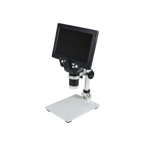 1-1200X LED Digital Microscope, HD 7 inch LCD Screen, 12 MP