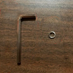 Allen Wrench and Spacer Kit for Magnifying Lamp