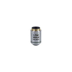 BoliOptics 20X Infinity-Corrected Plan Achromatic POL Polarizing Microscope Objective Lens Working Distance 2.71mm with Black Finish PL04053431