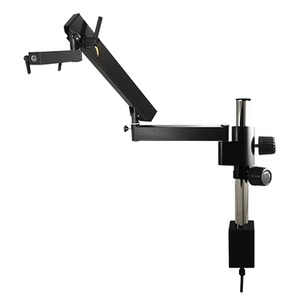 Microscope Flexible Articulating Arm, Post Clamp Stand