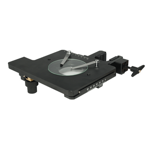 X: 0-80mm Y: 0-60mm XY Stage Travel Distance 60x50mm Stage Platform Dimensions 180x155mm 60x50mm Stereo Microscope Clamp Manual Stage SG02302211