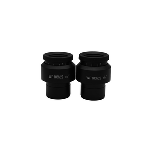 WF 10X Widefield Focusable Microscope Eyepieces, High Eyepoint, 30mm, FOV 22mm, Adjustable Diopter (Pair) SZ05023221