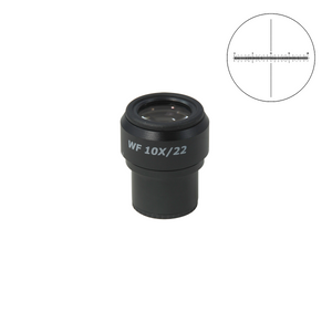 20mm/200 Div Eyepiece Field of View Dia. 22mm 10X Reticle Adjustable Eyepiece ( Dia. 30/FN22) SZ17013241