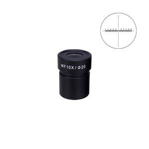 10mm/100 Div Eyepiece Field of View Dia. 20mm 10X Reticle Eyepiece ( Dia. 30.5/FN20) FS12013233