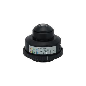 N.A 1.25 4-100X Microscope Abbe Condenser