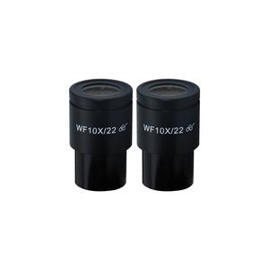 WF 10X Widefield Microscope Eyepieces, High Eyepoint, 30mm, FOV 20mm (Pair) BM03022212