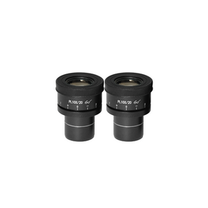 WF 10X Widefield Focusable Microscope Eyepieces, High Eyepoint, 30mm, FOV 20mm, Adjustable Diopter (Pair) BM05102221