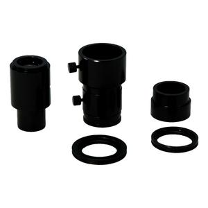 4 Pcs 10X Digital Camera Lens Adapter Kit for Microscopes (23.2mm to 30mm, 23.2mm to C-Mount, 33mm to 27mm, 33mm to 32mm)